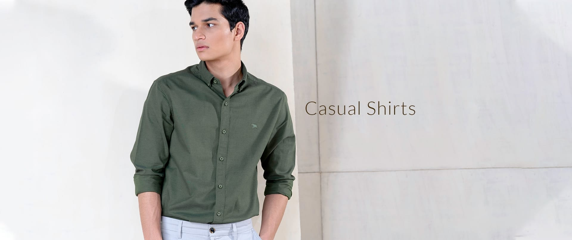 Branded Casual Shirts For Men