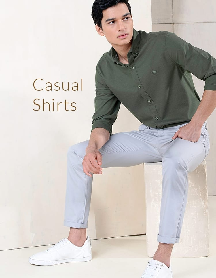 Men's Designer Casual Shirts