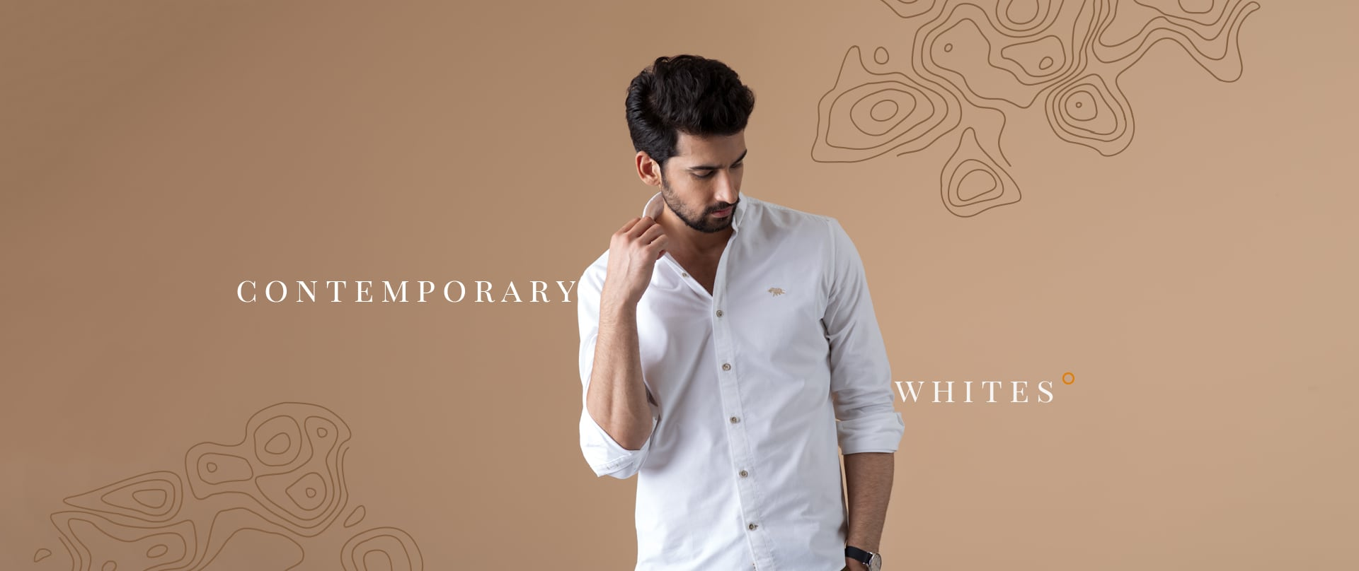 Branded White Shirt For Men