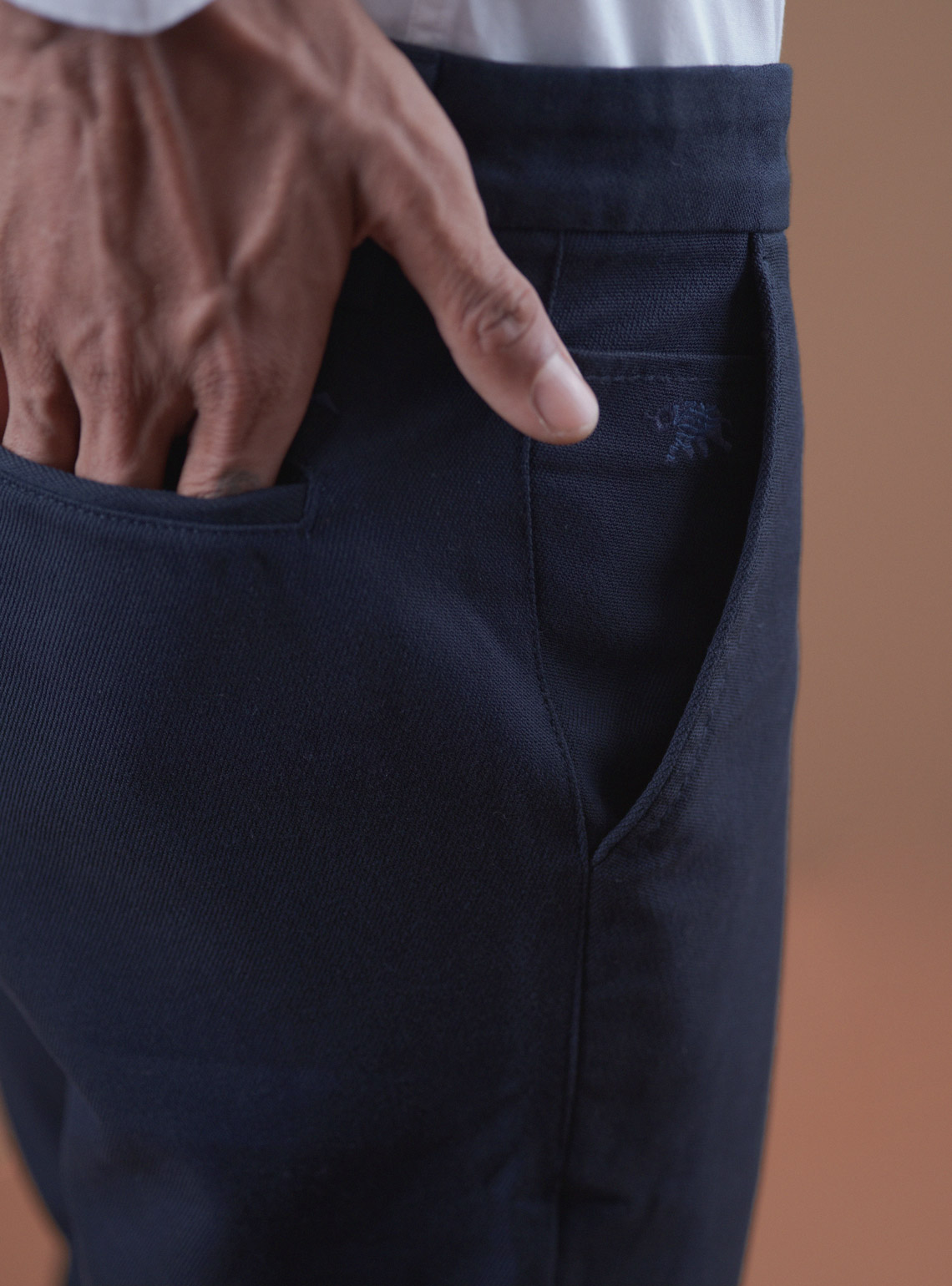 Essential Navy Trouser