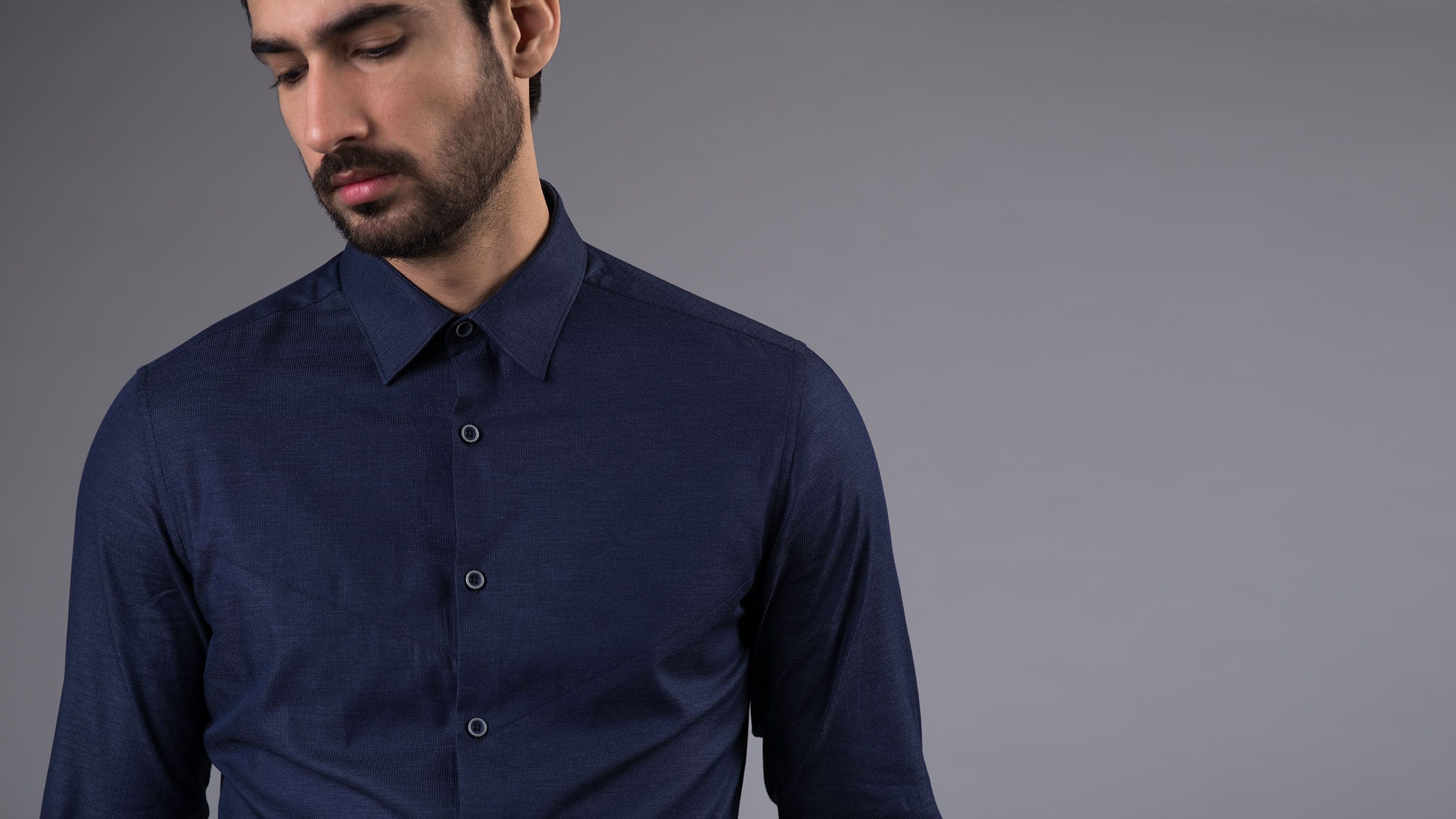 Buy Navy Stripes shirt online