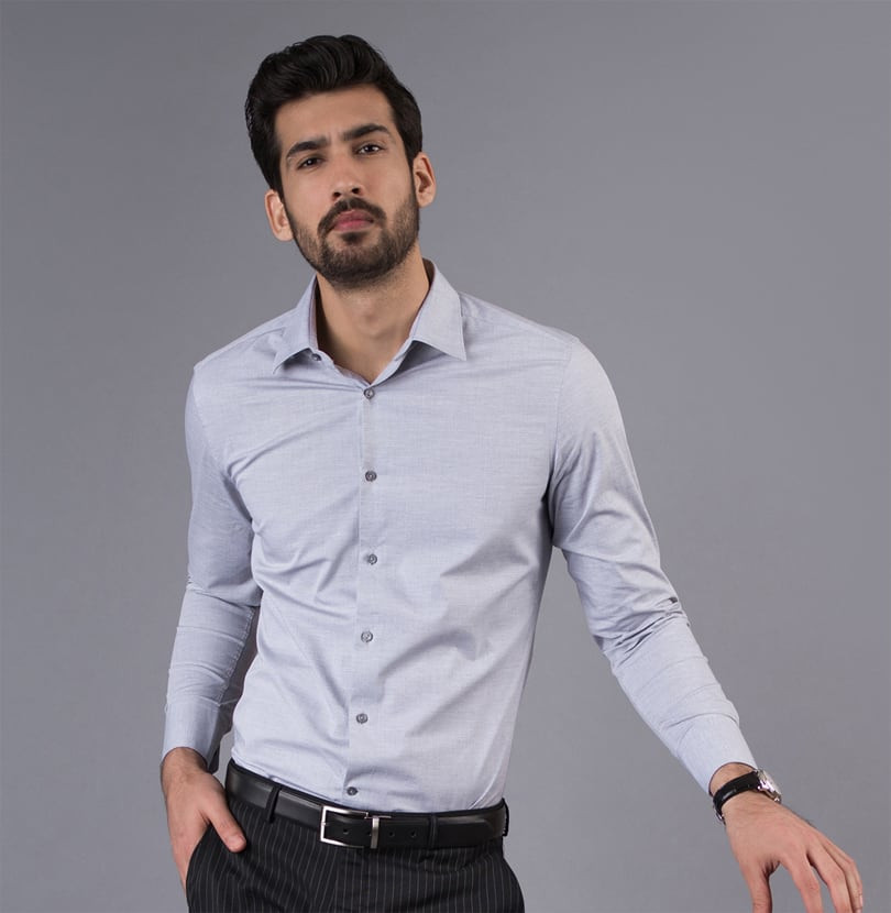 2 Shades of Grey Branded Designer Shirts for Men