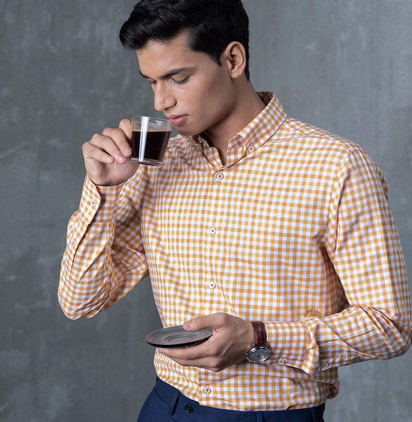 Honey Bourbon Branded Designer Shirts for Men