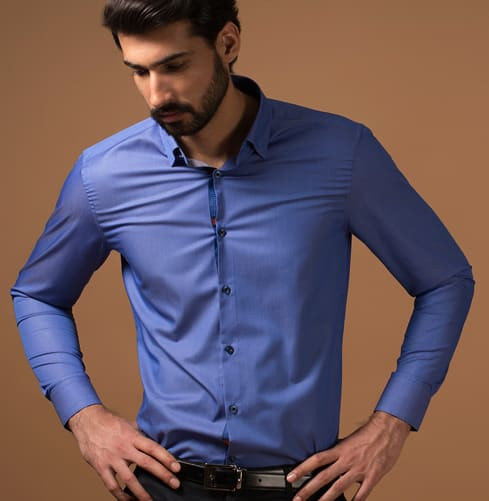 Light Weight Camel Art Branded Designer Shirts for Men