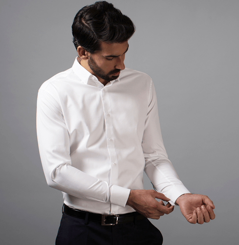 The Mantaray Dress Cuff Branded Designer Shirts for Men
