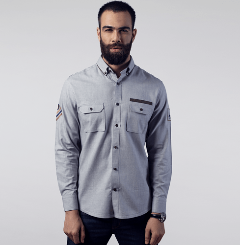 Squadron Lohegaon Branded Designer Shirts for Men