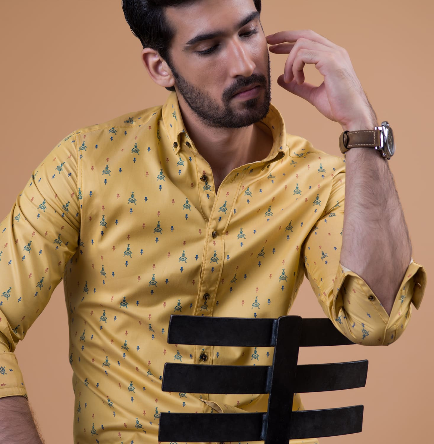 Mustard Yogi Branded Designer Shirts for Men
