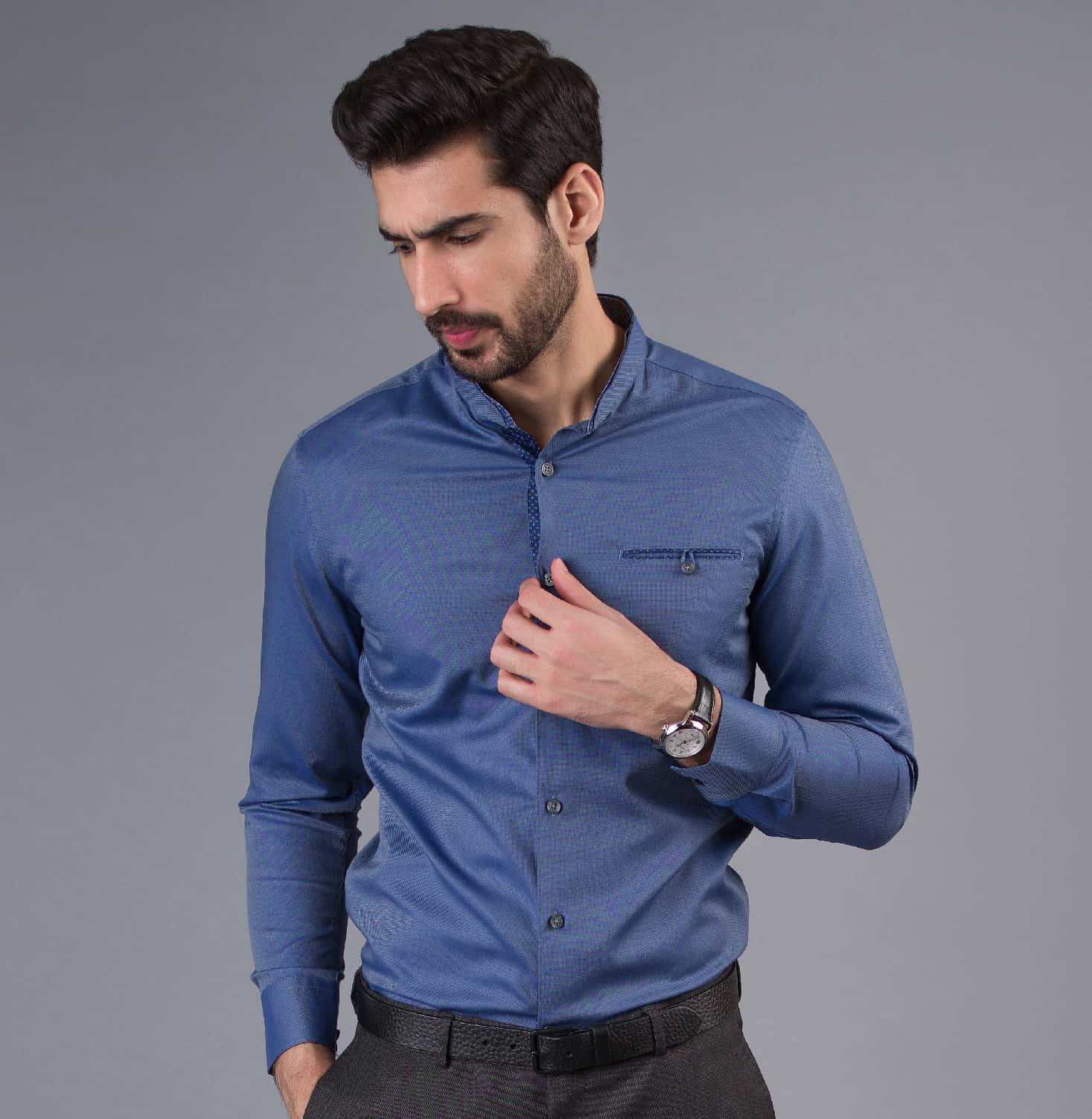 Nehru Teen Bhuja Branded Designer Shirts for Men