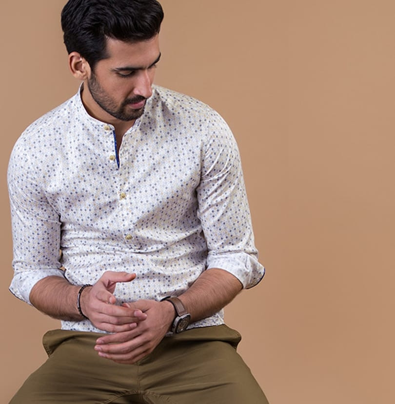 The Bindu Popover Branded Designer Shirts for Men