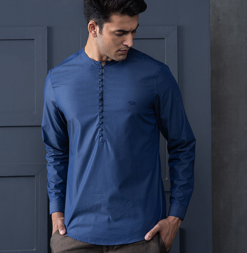 Pop a Blue Branded Designer Shirts for Men