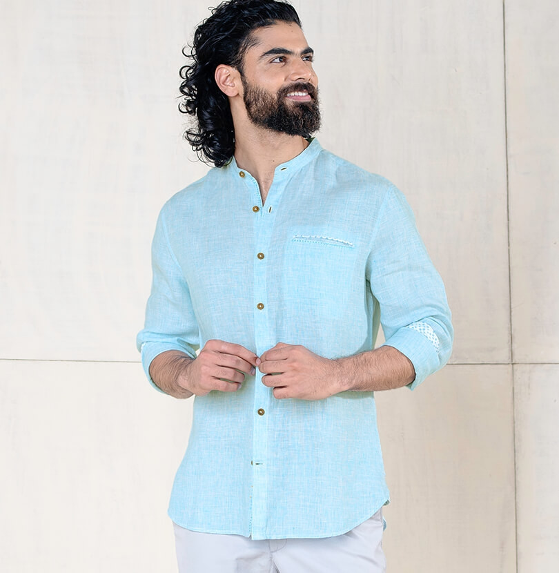 Blue Moon Branded Designer Shirts for Men