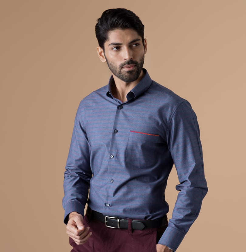 Red Bar Branded Designer Shirts for Men