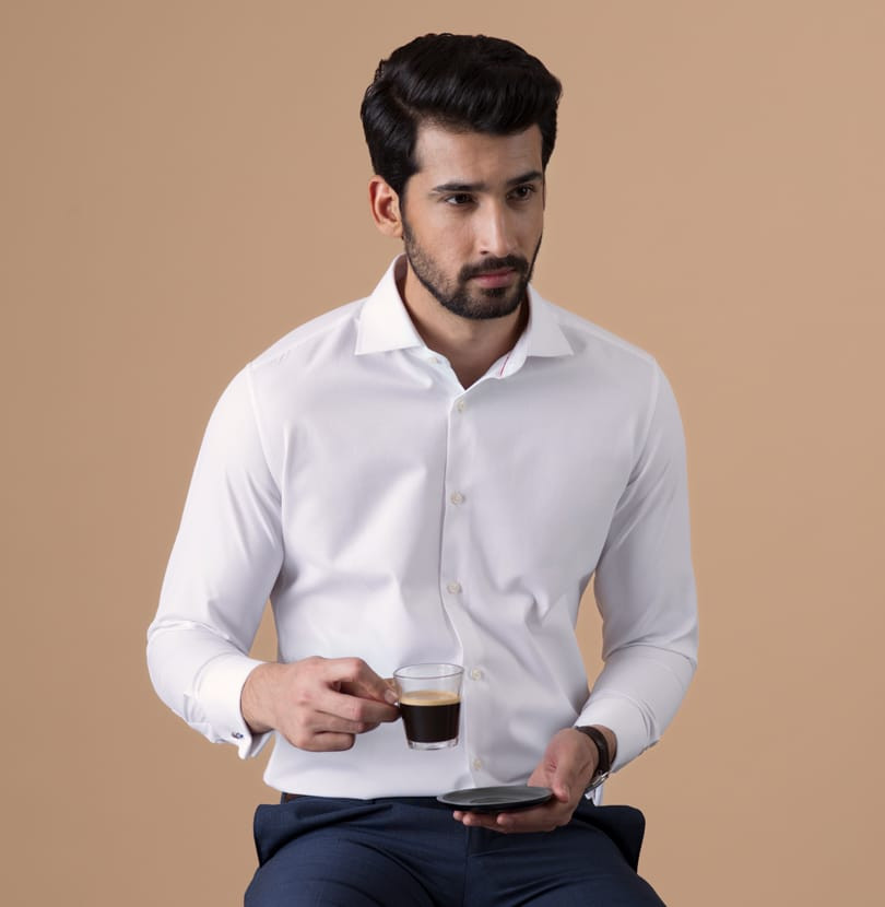 Work it white Branded Designer Shirts for Men