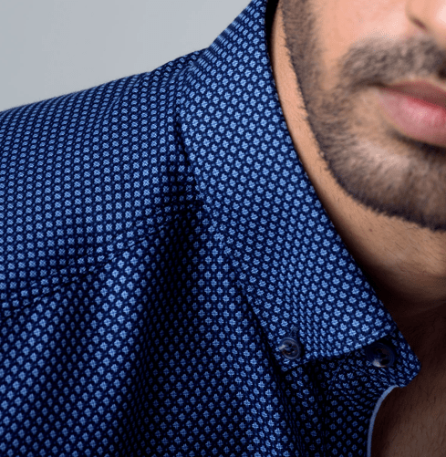 Blue Champagne Branded Designer Shirts for Men