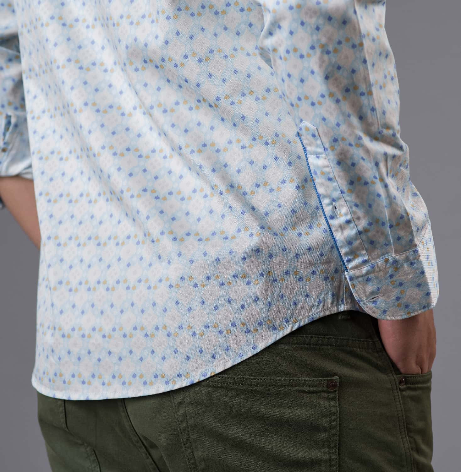 Ikat No. 7 Branded Designer Shirts for Men