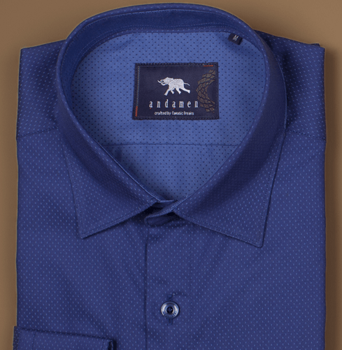 Midnight Blue Branded Designer Shirts for Men