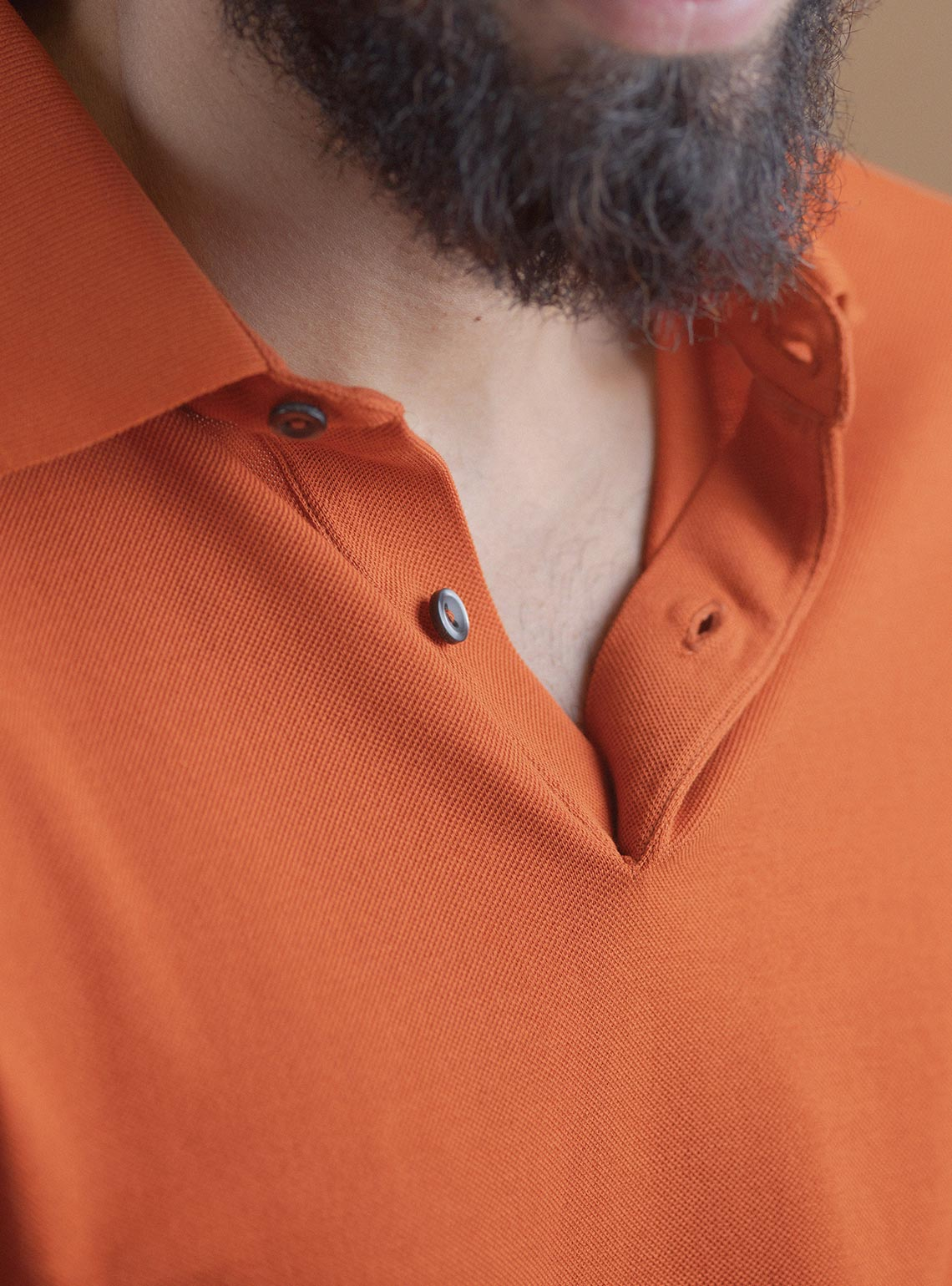 Orange Pop Polo