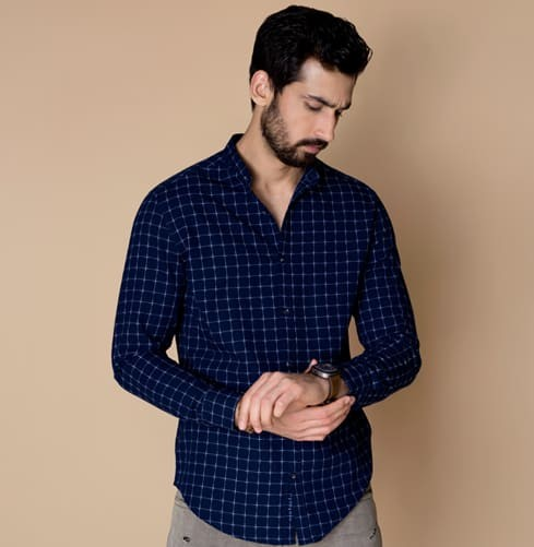 The Traveller (Nehru) Branded Designer Shirts for Men