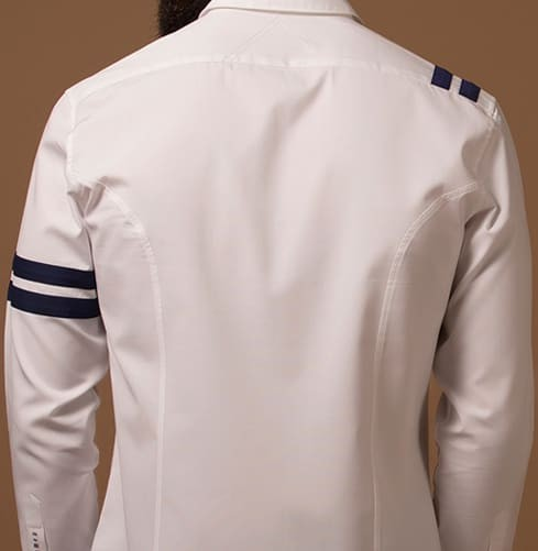 Signature Sports Stripe Branded Designer Shirts for Men