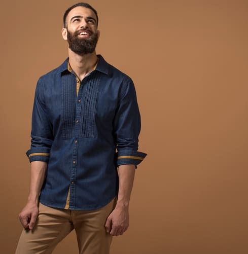 THE COSMIC BLUES Branded Designer Shirts for Men