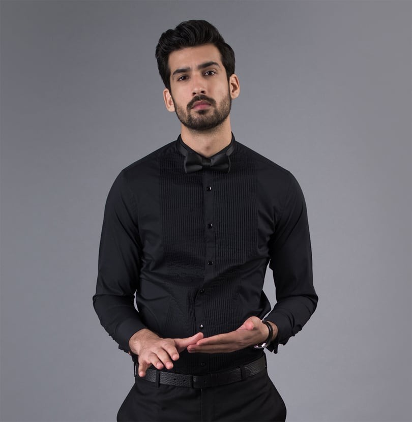 Black Tux Branded Designer Shirts for Men
