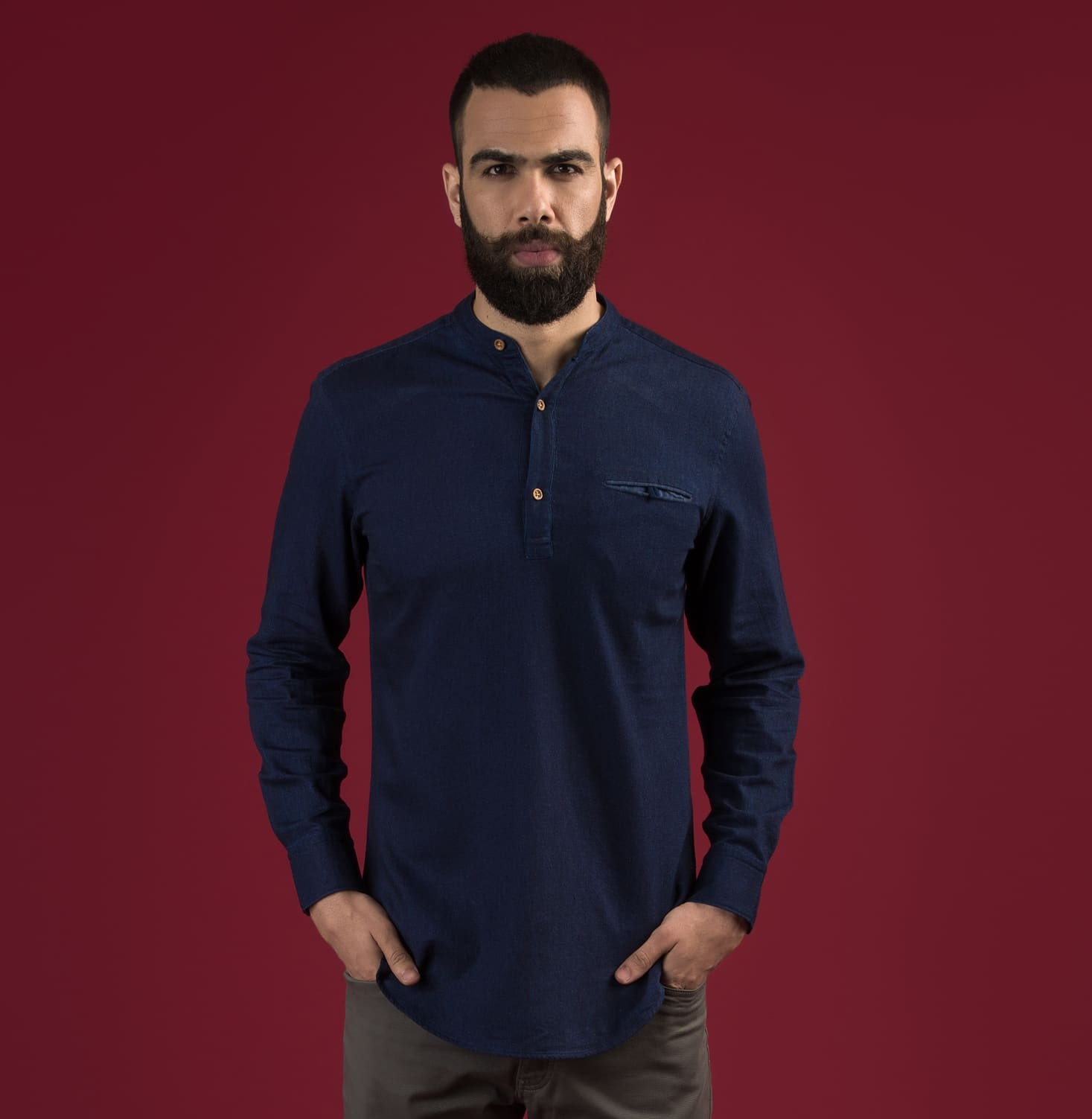 Neel Popover Branded Designer Shirts for Men