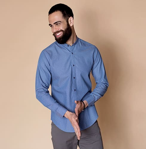 Denim/Non-Denim Branded Designer Shirts for Men