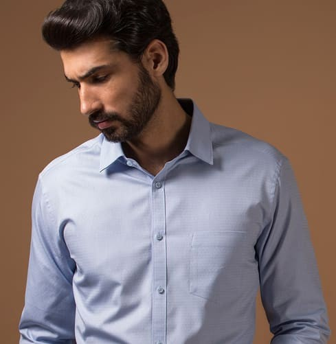 THE RIVER BLUE Branded Designer Shirts for Men