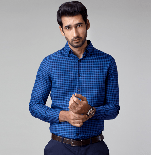 The Navy Rush Branded Designer Shirts for Men