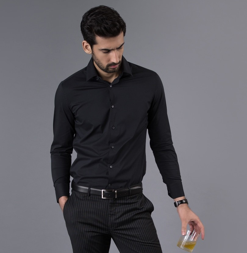 Black Hole Branded Designer Shirts for Men