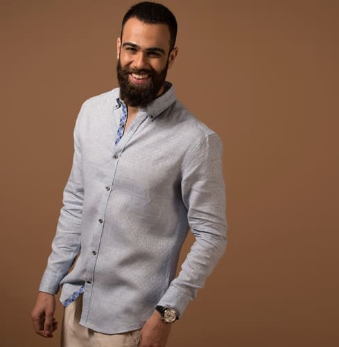 Linen Lama Branded Designer Shirts for Men