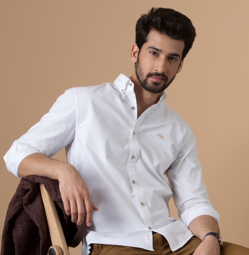 Ivory Elephant Branded Designer Shirts for Men