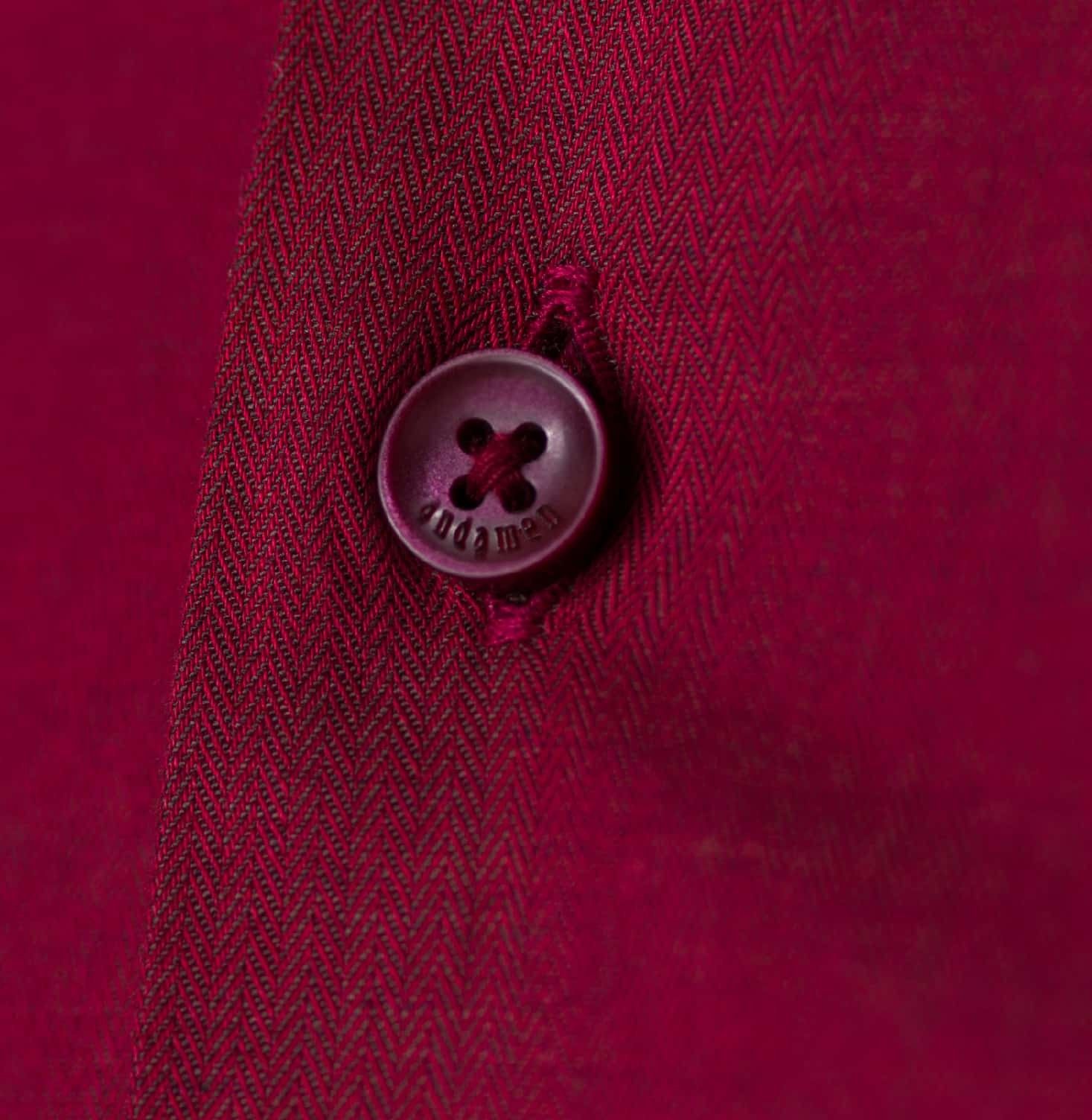 Essential Burgundy Twill Branded Designer Shirts for Men
