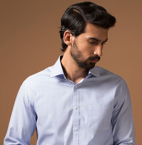 THE NEW STAPLE BLUE Branded Designer Shirts for Men